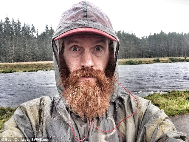 The adventurer embarked on the Great British Triathlon in 2008 and swam the length of the UK before cycling it last year. After being forced to abandon the final leg - the run - of the challenge, he wants to try it again in May