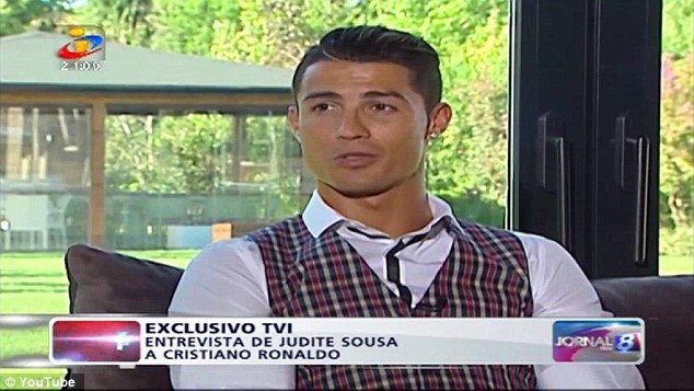 Ronaldo was speaking to Portuguese TV channel TVI when he joked about Messi's Golden Ball win