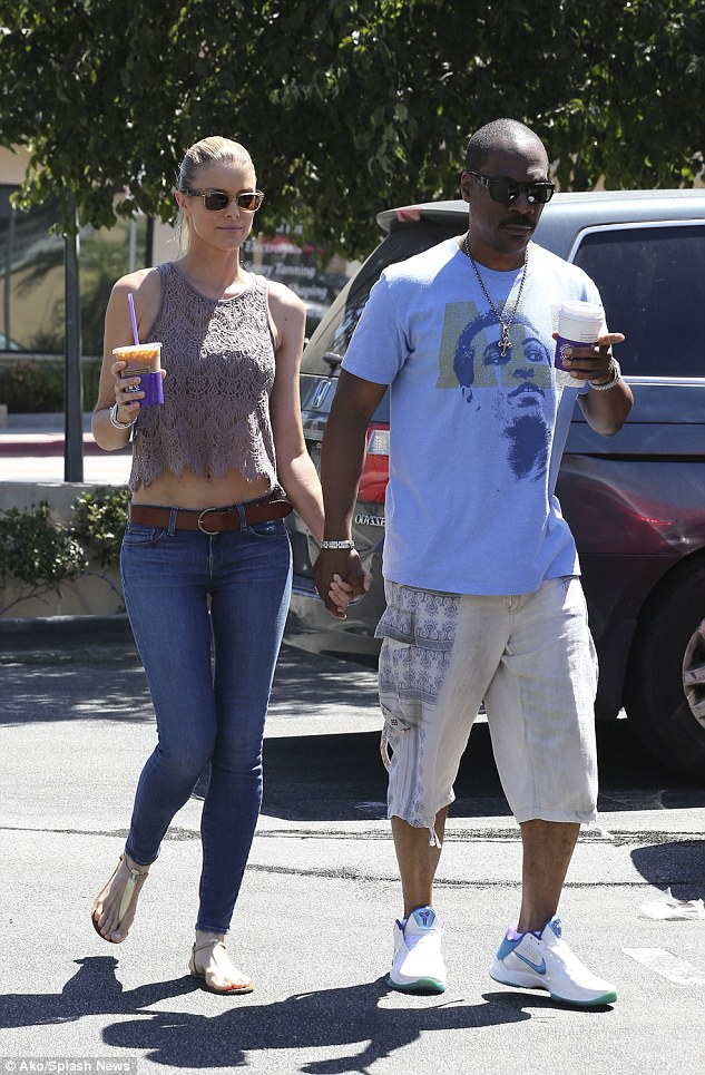 They love their coffee: The 53-year-old actor and his 35-year-old girlfriend are regularly seen in the Coffee Bean And Tea Leaf in Studio City