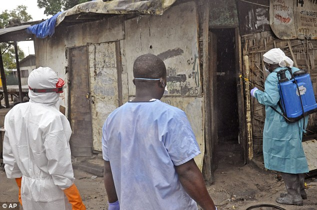 High death rate: So far Ebola has killed more than 1,500 of the 3,000 people it has sickened in Guinea, Liberia, Nigeria and Sierra Leone, according to an official count