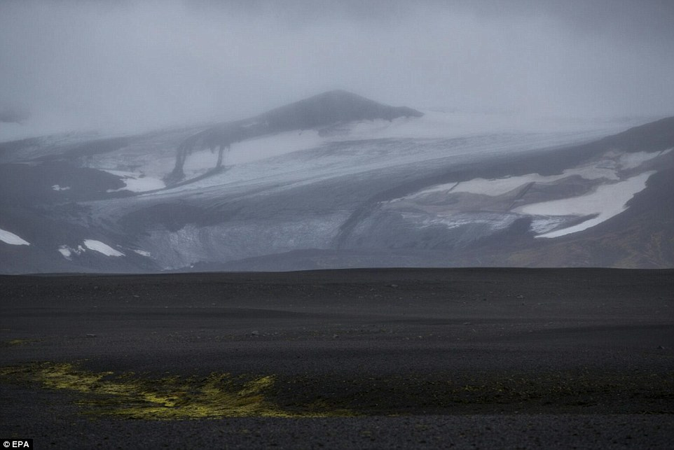 Volatile: Bardarbunga is located under Iceland¿s largest glacier and it has been rocked by thousands of earthquakes for nearly two weeks.=