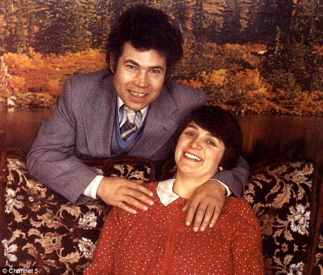 Bizarre: Caroline's life with Fred and Rose West quickly became unbearable thanks to their increasingly odd behaviour