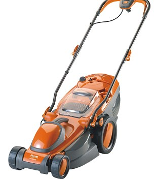 Electric lawnmowers like the Flymo could be threatened by EU rules