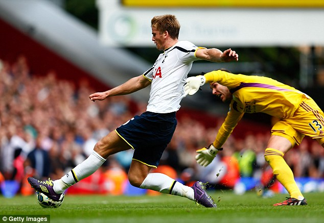 Bargain: Eric Dier was signed by Tottenham for £4.5 million from Sporting Lisbon