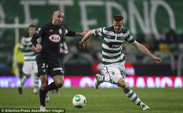 Portugeezer: The 20-year-old learned his football education while playing for  Sporting Lisbon