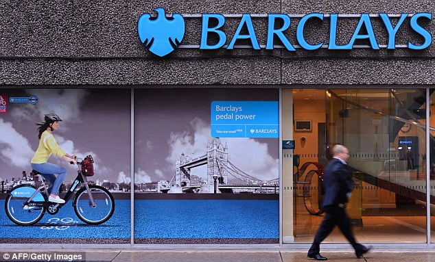 Feeling welcome: Paul Collins at the Barclays branch on Kensington High Street was helpful, says Jeff Prestridge