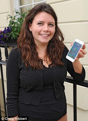 Daisy O'Brien who has insurance on her iPhone 5