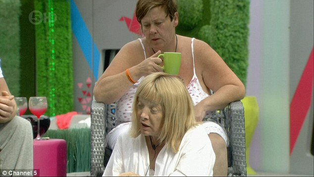 Just thinking:The admission began when the petite star asked housemates whether she would be classed a lesbian if she has a relationship with a woman after her operation
