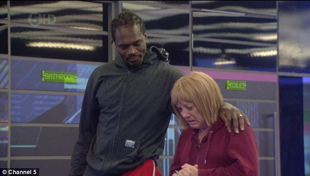 Sorted out:Kellie had been left unimpressed as Audley said: ¿I'm a little uncomfortable living with you in the house but I feel the world is ready for you.¿