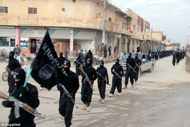 Rebels: More than 500 British jihadis have joined the ranks of IS and other extremist groups in Syria and Iraq, but nearly half have returned home, offering opportunities to gain intelligence. Above, ISIS rebels in Syria