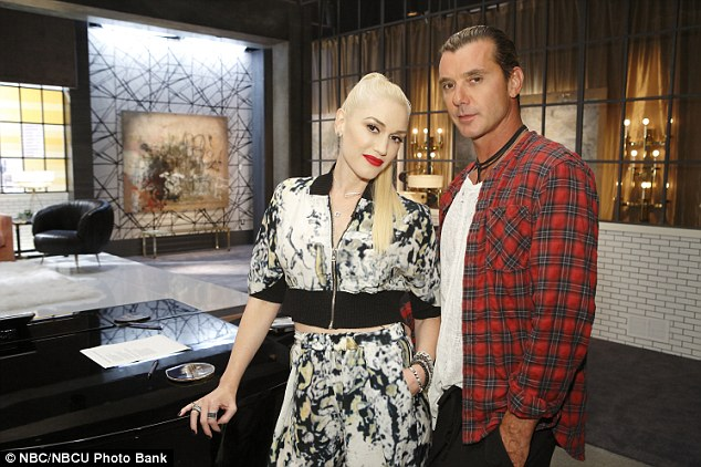 Team Gwen: Rossdale will serve as his wife's team mentor on the upcoming seventh season of the hit show The Voice