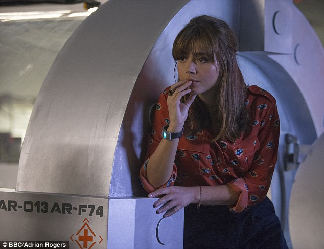Doctor's assistant: Clara, played by Jenna Coleman. For all The Doctor's genius and experience of Daleks, it took Clara to illustrate that it was not the case that Daleks were inherently, unremittingly, Evil