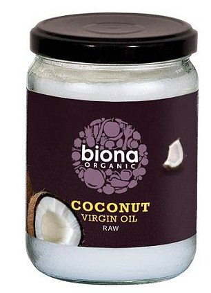 Coconut oil contains poly and mono-unsaturated fats which bring health benefits