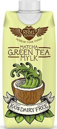 Rebel Kitchen Matcha green tea mylk, £1.89, one of the newest coconut-milk based health drinks