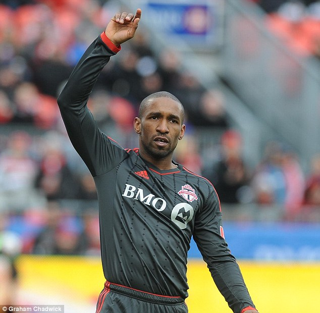 Wanted: Redknapp is also keen on bringing Jermain Defoe to Loftus Road but the striker is wanted elsewhere