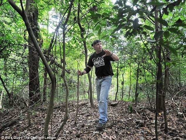 Sighting: Childers said last November he saw the six-foot-tall creature see him and then dash into the woods