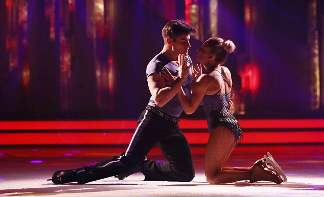 Success: ITV, whose shows include Dancing on Ice, could be soon be snapped up by Liberty Global
