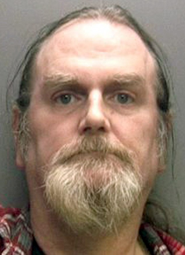 Convicted murderer David Richards (pictured) was able to claim benefits, obtain a passport and even go overseas on holiday thanks to blundering police