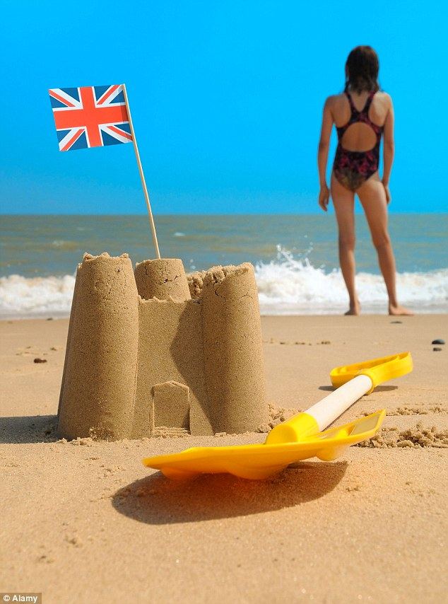 And relax: 41% of Brits are choosing to go on holiday every six months in order to deal with daily stress