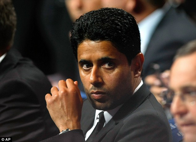 Controversial: The PSG president believes Uefa's policies are too strict and stopping big clubs from being big