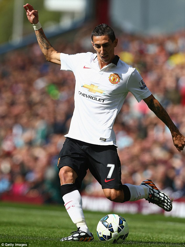 Move: Angel di Maria broke British transfer records in a £60m move to Manchester United from Real Madrid