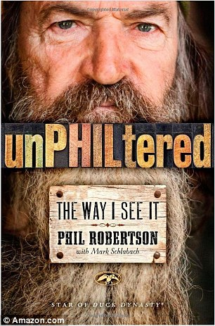 Robertson wrote a new memoir titled UnPHILtered