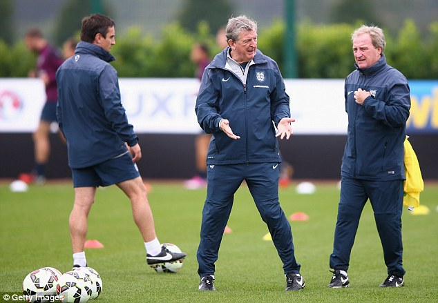 Not just a friendly: Hodgson can barely afford a backwards step as he looks to engage a nation