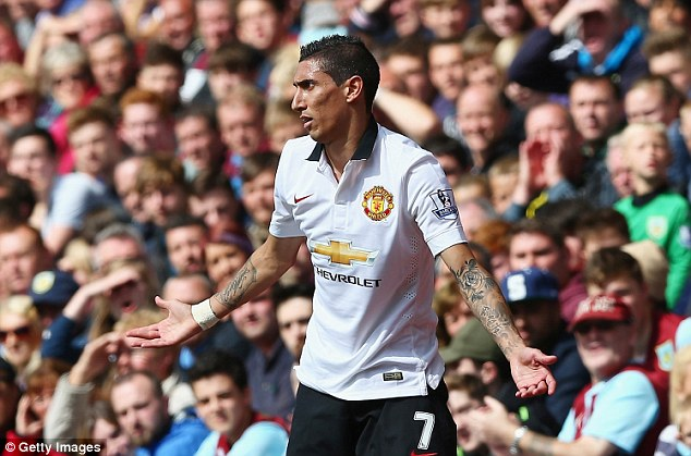 Am I worth it? Angel di Maria was the most expensive acquisition after joining United for a record £59.7m