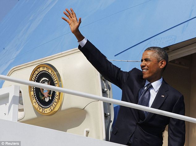 No statement: President Obama boarded Air Force One to Estonia this afternoon without addressing the nation on the latest killing