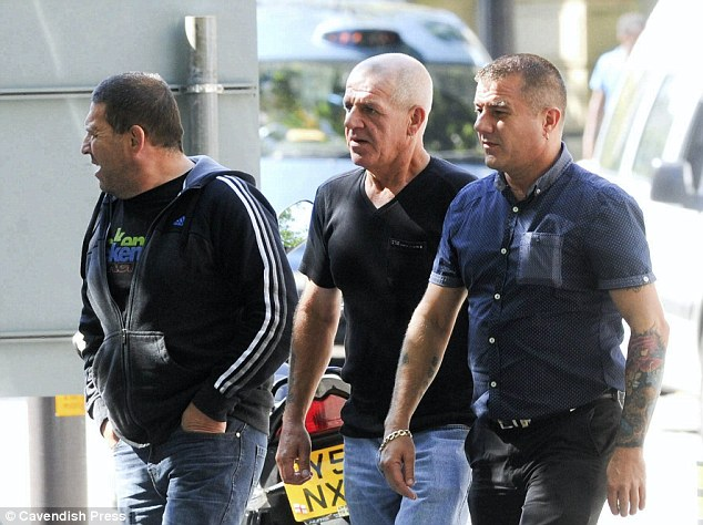 Philip Dunne (centre), the victim's father said: 'Charlie would never take her own life and would never take drugs as far as I¿m aware and was very anti-drugs'