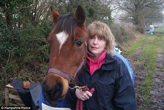 Mrs Davis was killed as she tended her horse in a field in the 7,000 acre Beaulieu Estate on Tuesday afternoon