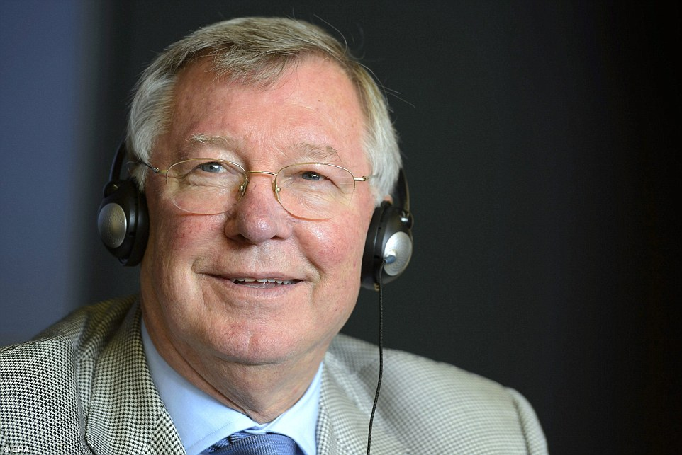 All ears:  Ferguson, acting as UEFA's coaching ambassador, chaired the 16th Elite Club Coaches Forum