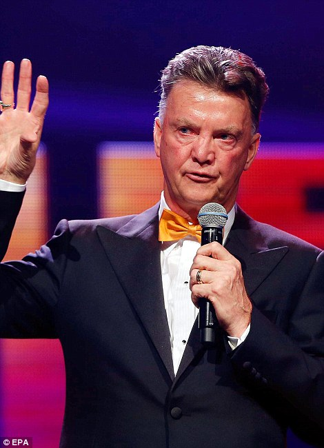 No show: Manchester United manager Louis van Gaal did not attend