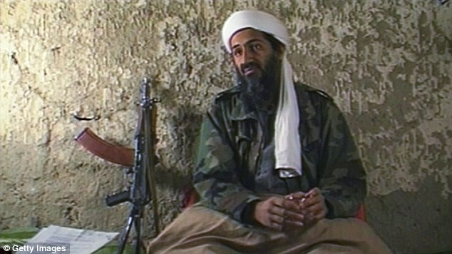 Shot dead: Osama bin Laden was killed by the unidentified member of the special forces team on May 2, 2011 at his Abbottabad, Pakistan compound