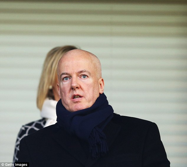 Astute: Jeremy Peace was happy with West Brom's transfer business but wants the window closed earlier