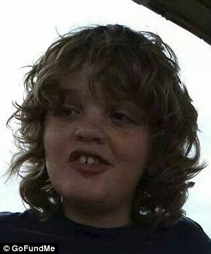 Too young: 11-year-old autistic boy Charlie Birely died Sunday when his family's sail boat caught fire. His parents tried in vain to pull him from the burning boat