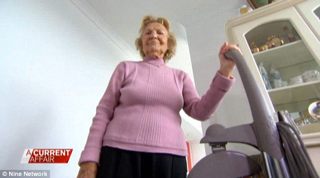 An elderly grandmother was promised to have her house cleaned every week by a door-to-door salesman, instead, she was left with a $3500 vacuum cleaner almost the size of her