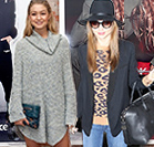 Get cosy in knitwear like Miranda and Gigi SPONSORED