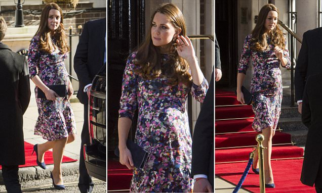 Duchess Of Cambridge Appears To Show Strain Of A Busy