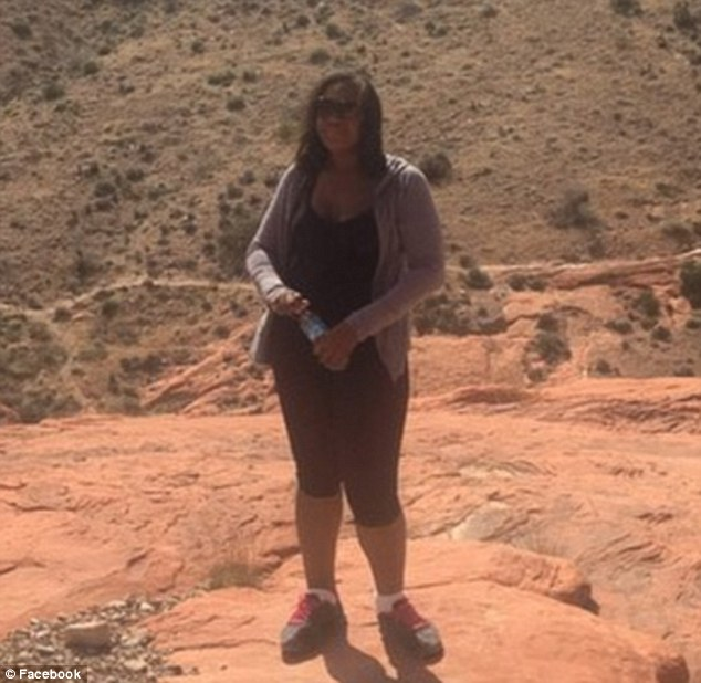 Sharpton claimed 'permanent physical pain and mental anguish' from her injury after tripping on a sidewalk. But pictures of her climbing at Red Rock Canyon in Nevada - after the sprain - were spotted on her social media