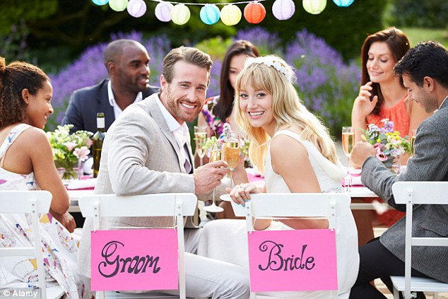Your big day: Costs can easily escalate when planning a dream wedding but there are ways to save