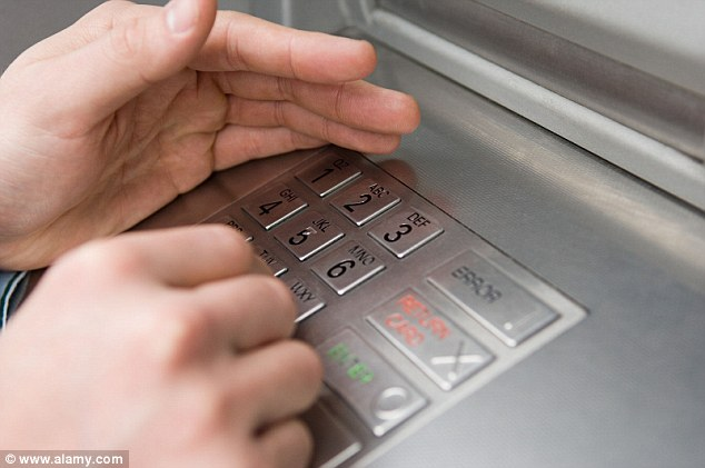 Security: Don't let anyone know your bank card Pin