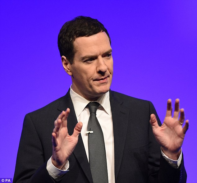 Crackdown: George Osborne will bring in a measure dubbed the Google Tax