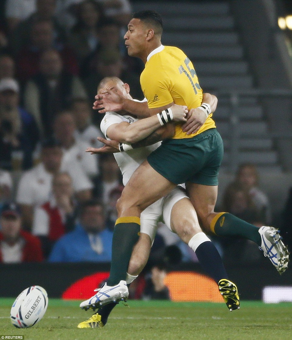 Old Deer Park Rugby Club: England Out Of The Rugby World Cup As The Wallabies Cruise