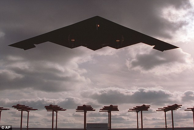 The new bomber is a high Air Force priority because the oldest ones in its fleet — the venerable B-52s — have far outlived their expected service life. Even the newest — the B-2 stealth bombers (pictured) — having been flying for more than two decades