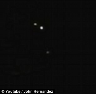 'UFO' captured on video in Texas shows 'lights falling out ...
