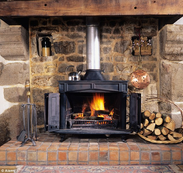 Using a wood-burning stove to heat the room you're in, rather than central heating to heat an entire house, may save you money on your energy bills
