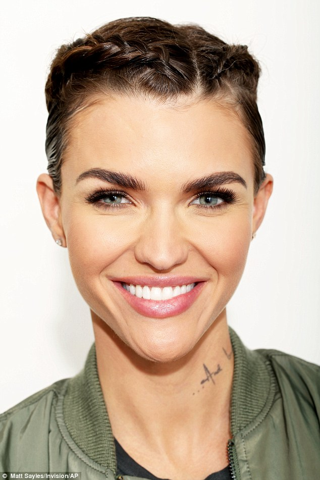 Ruby Rose cuts an androgynous figure in edgy Ralph Lauren ...