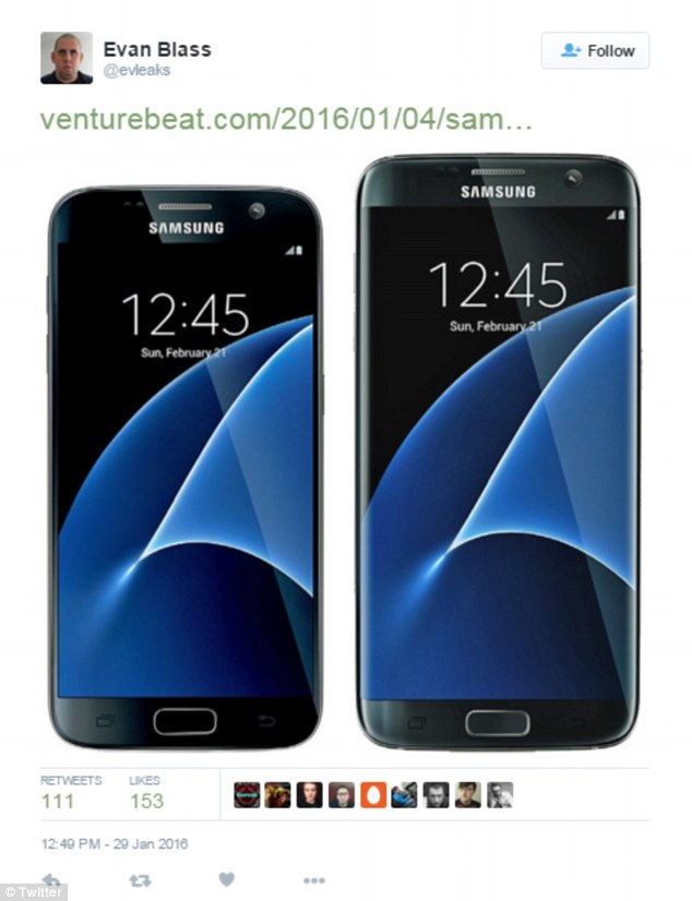 Has Samsung leaked details of its Galaxy S7 Edge on the ...