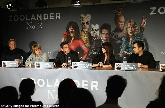 Penelope Cruz Joins Co Stars At Zoolander No 2 Premiere In